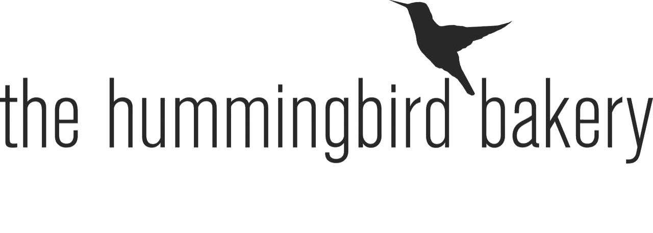 the hummingbird bakery logo + strapline 4975c 1
